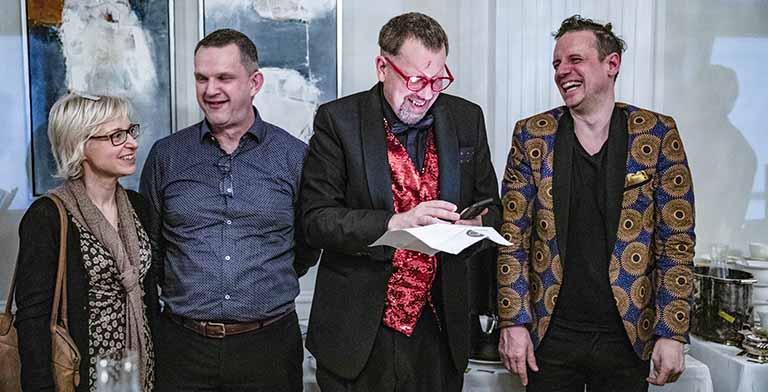 Tripnets 25-års fest, var en kombination av galna idéer från Stefan Odelberg och mig – här har vi festat i 23-timmar.