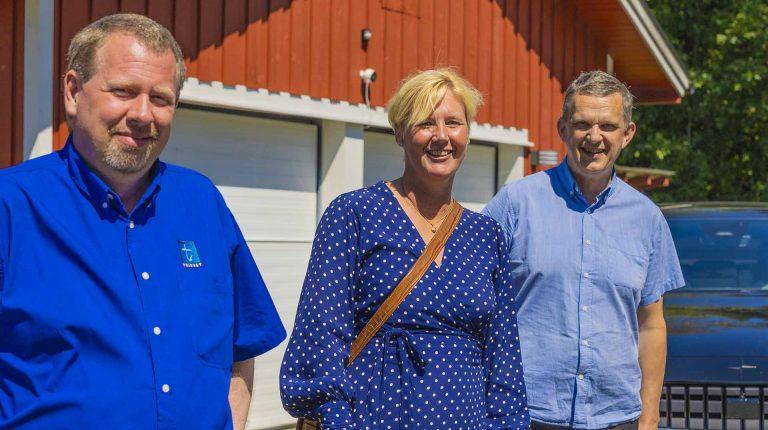Ulf, Katarina och Göran